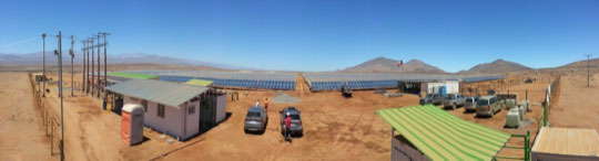 North South Holdings Inc. Chile Solar Project
